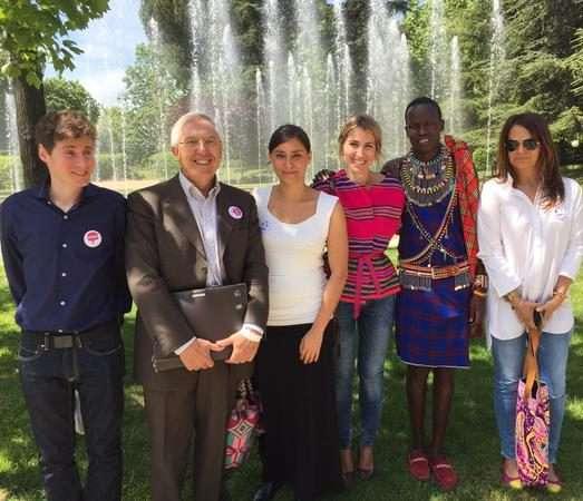 Ander Aldekoa con Johanna Mejía y otros ponentes en Slow Fashion Spain