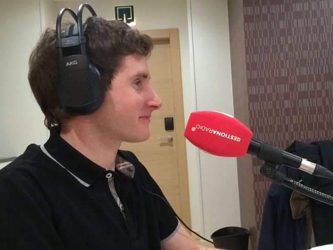 Ander Aldekoa en Gestiona Radio