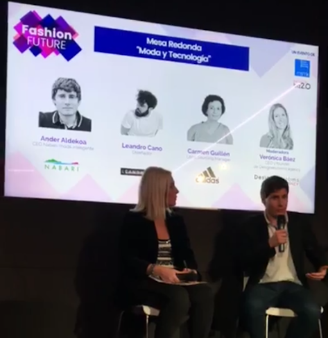 Ander Aldekoa en la ponencia Fashion Future Madrid 2018